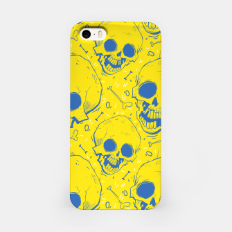 Thumbnail image of Yellow Skulls iPhone Case, Live Heroes