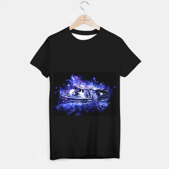 Miniaturka old ship boat wreck ws db T-shirt regular, Live Heroes