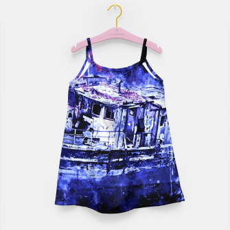 Imagen en miniatura de old ship boat wreck ws db Girl's dress, Live Heroes