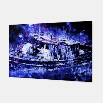 Miniaturka old ship boat wreck ws db Canvas, Live Heroes