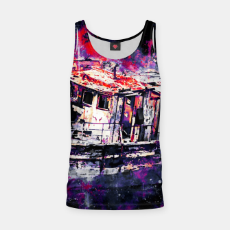 Thumbnail image of old ship boat wreck ws fn Tank Top, Live Heroes