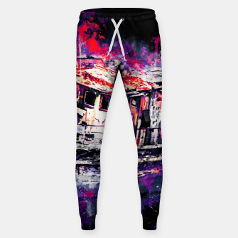 Miniatur old ship boat wreck ws fn Sweatpants, Live Heroes