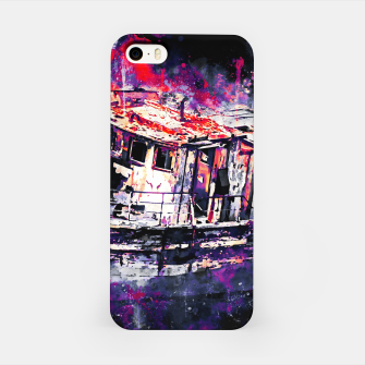 Thumbnail image of old ship boat wreck ws fn iPhone Case, Live Heroes