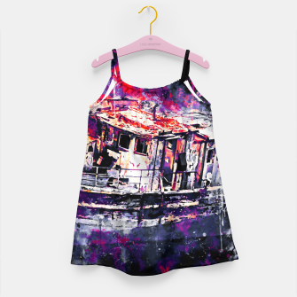 Imagen en miniatura de old ship boat wreck ws fn Girl's dress, Live Heroes