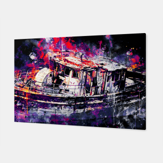 Thumbnail image of old ship boat wreck ws fn Canvas, Live Heroes