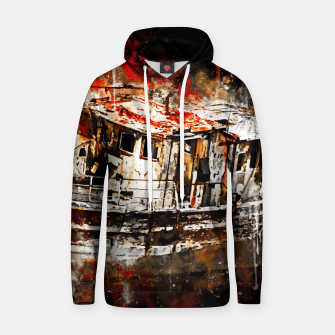 Thumbnail image of old ship boat wreck ws std Hoodie, Live Heroes