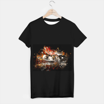 Miniaturka old ship boat wreck ws std T-shirt regular, Live Heroes