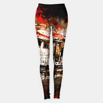 Miniaturka old ship boat wreck ws std Leggings, Live Heroes