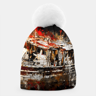 Thumbnail image of old ship boat wreck ws std Beanie, Live Heroes