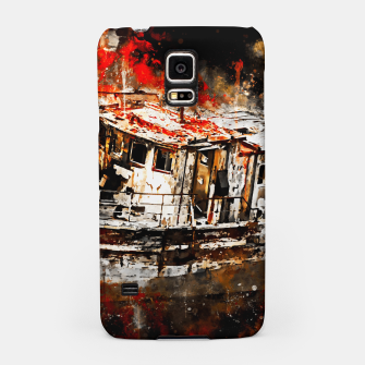 Thumbnail image of old ship boat wreck ws std Samsung Case, Live Heroes