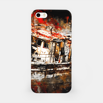 Thumbnail image of old ship boat wreck ws std iPhone Case, Live Heroes