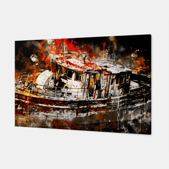 Thumbnail image of old ship boat wreck ws std Canvas, Live Heroes