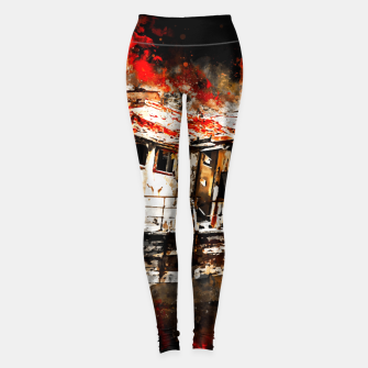 Thumbnail image of old ship boat wreck ws std Leggings, Live Heroes