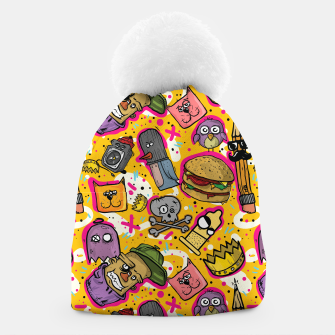 Thumbnail image of Hipster Life Beanie, Live Heroes