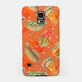 Thumbnail image of Junk Foodie Samsung Case, Live Heroes