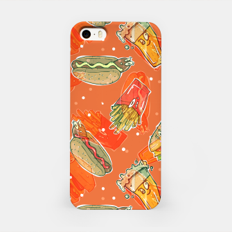 Thumbnail image of Junk Foodie iPhone Case, Live Heroes