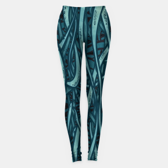 Thumbnail image of green Leggings, Live Heroes