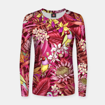 Thumbnail image of Red Birds Women sweater, Live Heroes