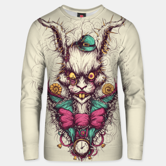 Miniaturka White Rabbit Unisex sweater, Live Heroes