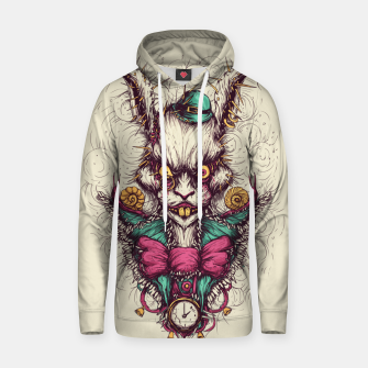 Thumbnail image of White Rabbit Hoodie, Live Heroes
