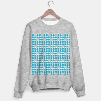 Miniature de image de Light Blue Polka Dots 3D Sweater regular, Live Heroes