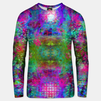 Miniaturka Invoking Reptilian Light (abstract, blue) Unisex sweater, Live Heroes