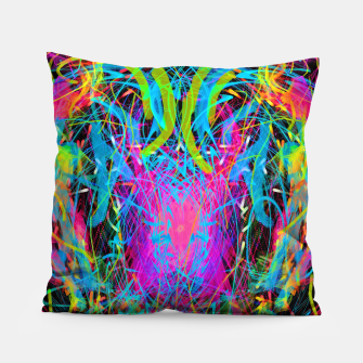 Thumbnail image of Radiance Flame (abstract, psychedelic) Pillow, Live Heroes