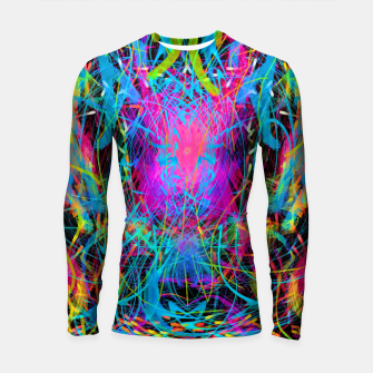 Miniaturka Radiance Flame (abstract, psychedelic) Longsleeve rashguard , Live Heroes
