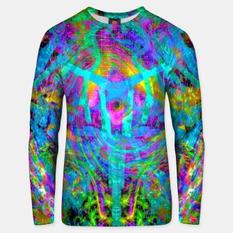 Thumbnail image of Solar System Melt (abstract, psychedelic) Unisex sweater, Live Heroes