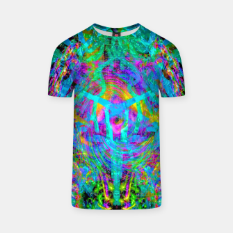 Thumbnail image of Solar System Melt (abstract, psychedelic) T-shirt, Live Heroes