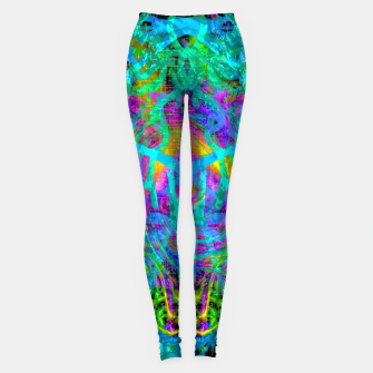 Thumbnail image of Solar System Melt (abstract, psychedelic) Leggings, Live Heroes