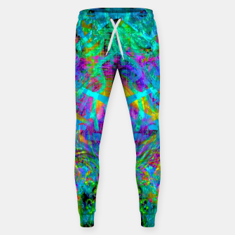 Thumbnail image of Solar System Melt (abstract, psychedelic) Sweatpants, Live Heroes