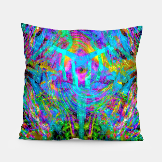 Thumbnail image of Solar System Melt (abstract, psychedelic) Pillow, Live Heroes