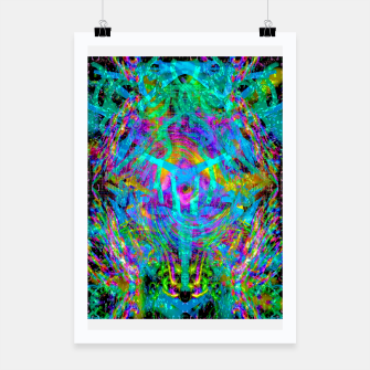 Thumbnail image of Solar System Melt (abstract, psychedelic) Poster, Live Heroes