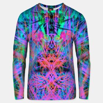 Miniatur Techno Witch (abstract) Unisex sweater, Live Heroes
