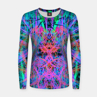 Miniatur Techno Witch (abstract) Women sweater, Live Heroes