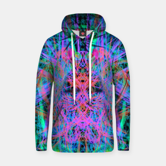 Miniatur Techno Witch (abstract) Hoodie, Live Heroes