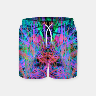 Miniatur Techno Witch (abstract) Swim Shorts, Live Heroes