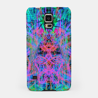 Miniatur Techno Witch (abstract) Samsung Case, Live Heroes