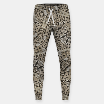 Thumbnail image of Cyber Punk Pattern Design Sweatpants, Live Heroes