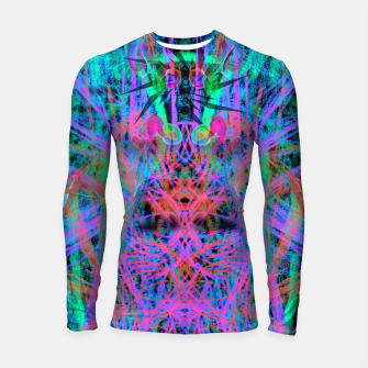 Miniature de image de Techno Witch (abstract) Longsleeve rashguard , Live Heroes