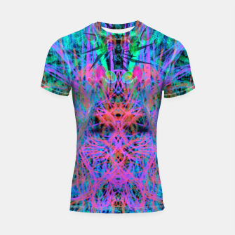 Miniatur Techno Witch (abstract) Shortsleeve rashguard, Live Heroes