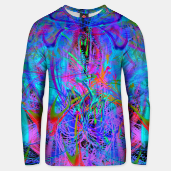 Thumbnail image of The Veil of The Mistress (abstract, psychedelic) Unisex sweater, Live Heroes
