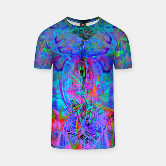 Thumbnail image of The Veil of The Mistress (abstract, psychedelic) T-shirt, Live Heroes