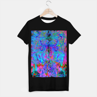 Thumbnail image of The Veil of The Mistress (abstract, psychedelic) T-shirt regular, Live Heroes