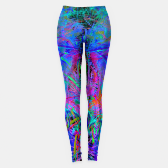 Thumbnail image of The Veil of The Mistress (abstract, psychedelic) Leggings, Live Heroes