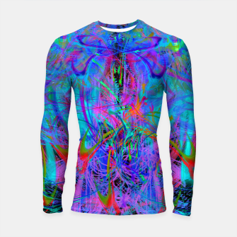 Miniature de image de The Veil of The Mistress (abstract, psychedelic) Longsleeve rashguard , Live Heroes