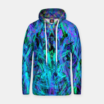 Thumbnail image of Water Drop Dream Reflection (abstract, blue) Hoodie, Live Heroes