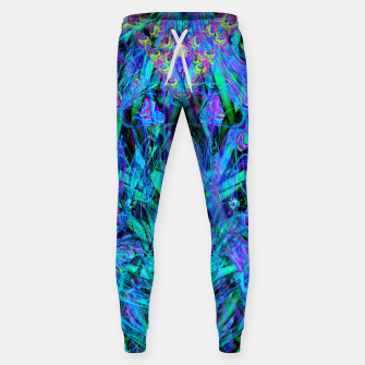 Thumbnail image of Water Drop Dream Reflection (abstract, blue) Sweatpants, Live Heroes