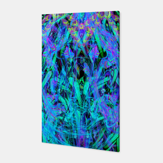 Thumbnail image of Water Drop Dream Reflection (abstract, blue) Canvas, Live Heroes